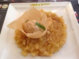 mirepoix cuisine mirepoix de pommes au miel d acacia et gingembre glace d épice