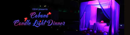 Candle Light Dinner Cabana Candle Light Dinner Tickets Bookmyshow