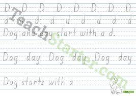 alphabet handwriting sheets individual