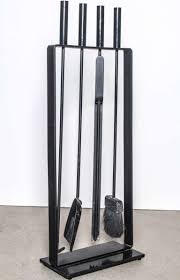 tips fireplace tool set outdoor fire pit tongs modern