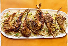 recipe moroccan grilled lamb chops with couscous startribune com