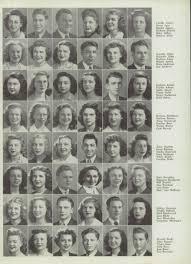 junior high school yearbooks explore 1945 jun redford high school yearbook detroit mi