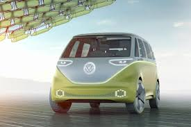 volkswagen bus front vw brings back the bus with the i d buzz concept naias the