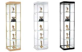 glass cabinet for sale glass showcases countertop floor standing tower style displays