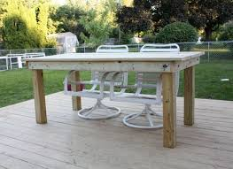 Cedar Patio Table Patio Table Plans Marylouise Parker Org