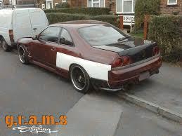 Nissan Gtr R33 - nissan skyline r33 gt r style rear fenders 50mm gramsstyling