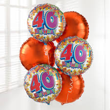 40th birthday balloons delivered balloons balloon delivery uk birthday balloons balloon gifts