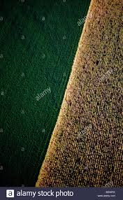 aerial view of rural pennsylvania dutch country extremely fertile