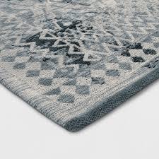 Turquoise Area Rug Faded Turquoise Tapestry Area Rug Threshold Target