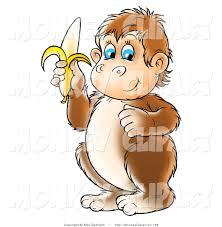 royalty free stock monkey designs of bananas