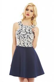 lace full sleeve skater dress ax paris u2013 dress ideas dress and mode