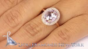 rose gold amethyst diamond ring lr 004 2 65 ctw natural pink amethyst u0026 diamond fashion cocktail