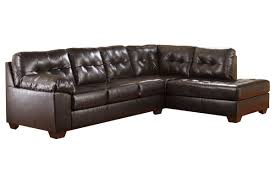 bonded leather sectional sofa alliston bonded leather sectional at gardner white