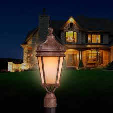Light On Landscape Post Ls Home Services Home Products Smartmart Site