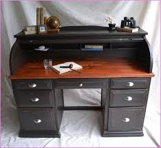 elegant roll top computer desk furniture oak rolltop puter desk