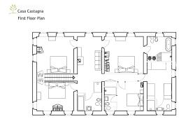 piano floor plan casa castagna floor plans
