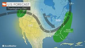 thanksgiving outlook cold snow to blast midwest as a