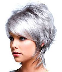 funky hairstyle for silver hair 359 best hair do s images on pinterest curly bob hairstyles