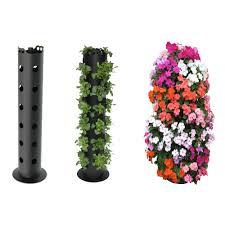 Vertical Garden Blanket Apolloexportsinternationalinc Flower Tower Resin Vertical Garden