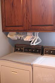 Laundry Room Hangers - hanger organization in the laundry room pigskins u0026 pigtails