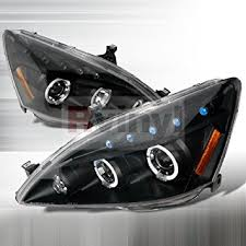 2004 honda accord headlights amazon com honda accord 2003 2004 2005 2006 2007 led halo