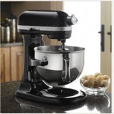 all black kitchenaid mixer kitchenaid ksm7580xbob artisan bowl lift 6 9l stand mixer onyx