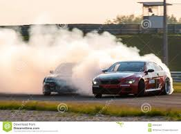 nissan drift cars bmw m6 u0026 nissan silvia drift cars editorial stock photo image