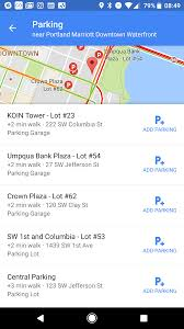Google Map Portland Oregon by Google Maps Now Makes It Easier To Find Parking Techcrunch