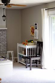 kitchen hearth room pitter patter changing table cheap at goodwill used to be brown in jr s nursery here ikea curtains rod old frames painted with annie sloan chalk paint one is