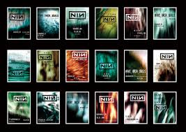 nine inch nails posts amazing gallery of posters from u002705 u002706