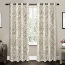 White Lined Curtain Panels Interiors Design Marvelous White Lined Curtains White Curtain