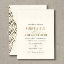 scalloped pearls ecru wedding invitation wedding invitations