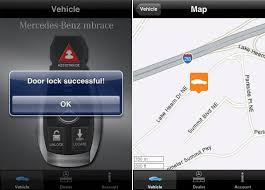mbrace mercedes mercedes mbrace iphone application 2 0 introduces mobile