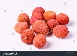 fruit similar to lychee lychee fruit lychee chinese chinese plum stock photo 360085373
