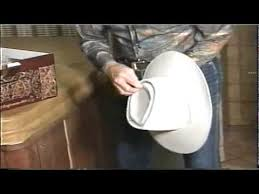 Rare How To Make Video Never Seen Rare Video Roy Rogers Showing How To Block Hat With