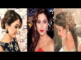 akshara wedding hairstyle hina khan inspired hairstyle akshara inspired hairstyles must