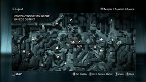 Assassin S Creed 2 Map Assassins Creed Revelations Animus Data Fragments Locations Guide