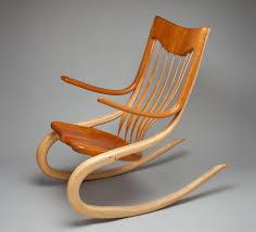 furniture best unfinished wooden rocking chair design for modern