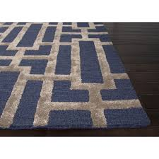 Blue Area Rugs 5x8 by Decor Navy Blue And Tan Area Rug For Flooring Decoration Ideas