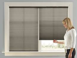 Pleated Shades For Windows Decor Cordless Top Bottom Up Day Accordia Cellular Shades