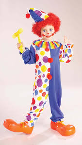 clown costumes kids classic unisex clown costume 24 99 the costume land