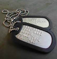 mens personalized dog tags dog tags for men be brave take risks and live