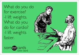 Lifting Weights Meme - what do you do for exercise i lift weights what do you do for