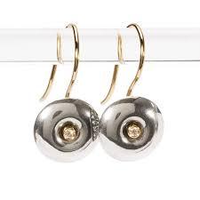 cd earrings trollbeads donut earrings trollbeads