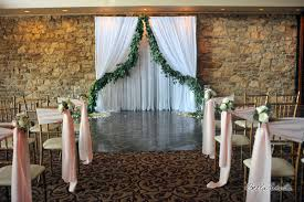 wedding drapery fabric background backdrops pipe n drape wedding pipe and