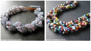 bead rope necklace images Beading tutorials spiral rope feltmagnet jpg