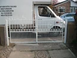 gate and fence metal driveway gates metal stair handrail
