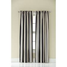 Black And White Striped Curtain Panels Gray Striped Curtain Panels Top P Green And White Wide Stripe Red