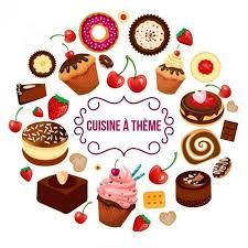 defi cuisine logo du défi cuisine à thème chez kaderick en kuizinn desserts