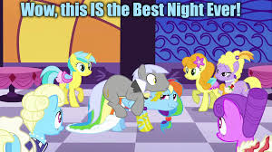 Best Mlp Memes - rainbow dash s best night ever my little pony friendship is magic
